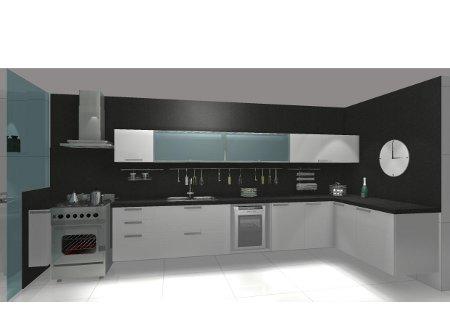 Ótimas sugestões para sua cozinha pequena