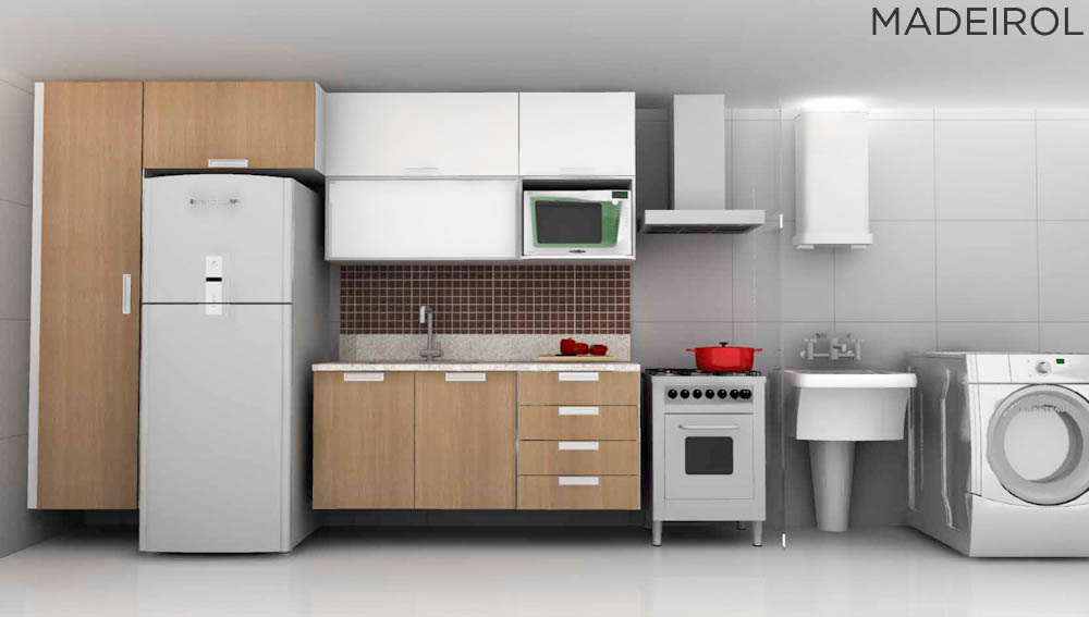 Ótimas sugestões para sua Cozinha Planejada. Inspire-se com mais de 3.000 sugestões!
