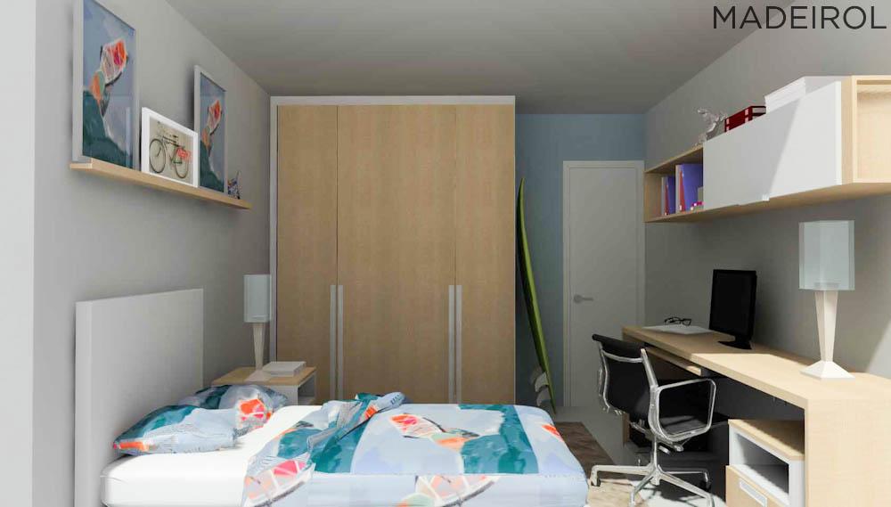 Arquivos Projetos de quarto solteiro Tudo sobre armários  ~ Quarto Planejado Niteroi