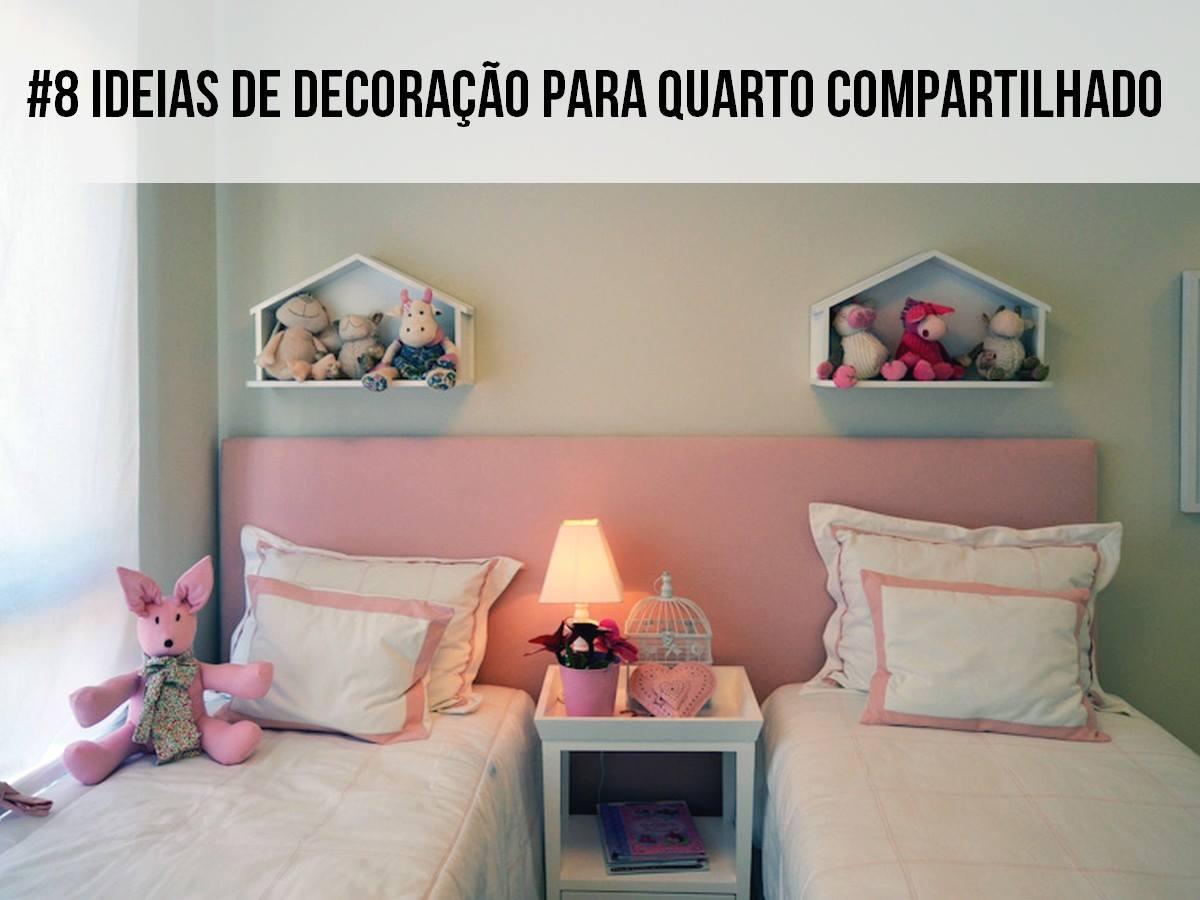 8 Ideias de decoração para quarto compartilhado