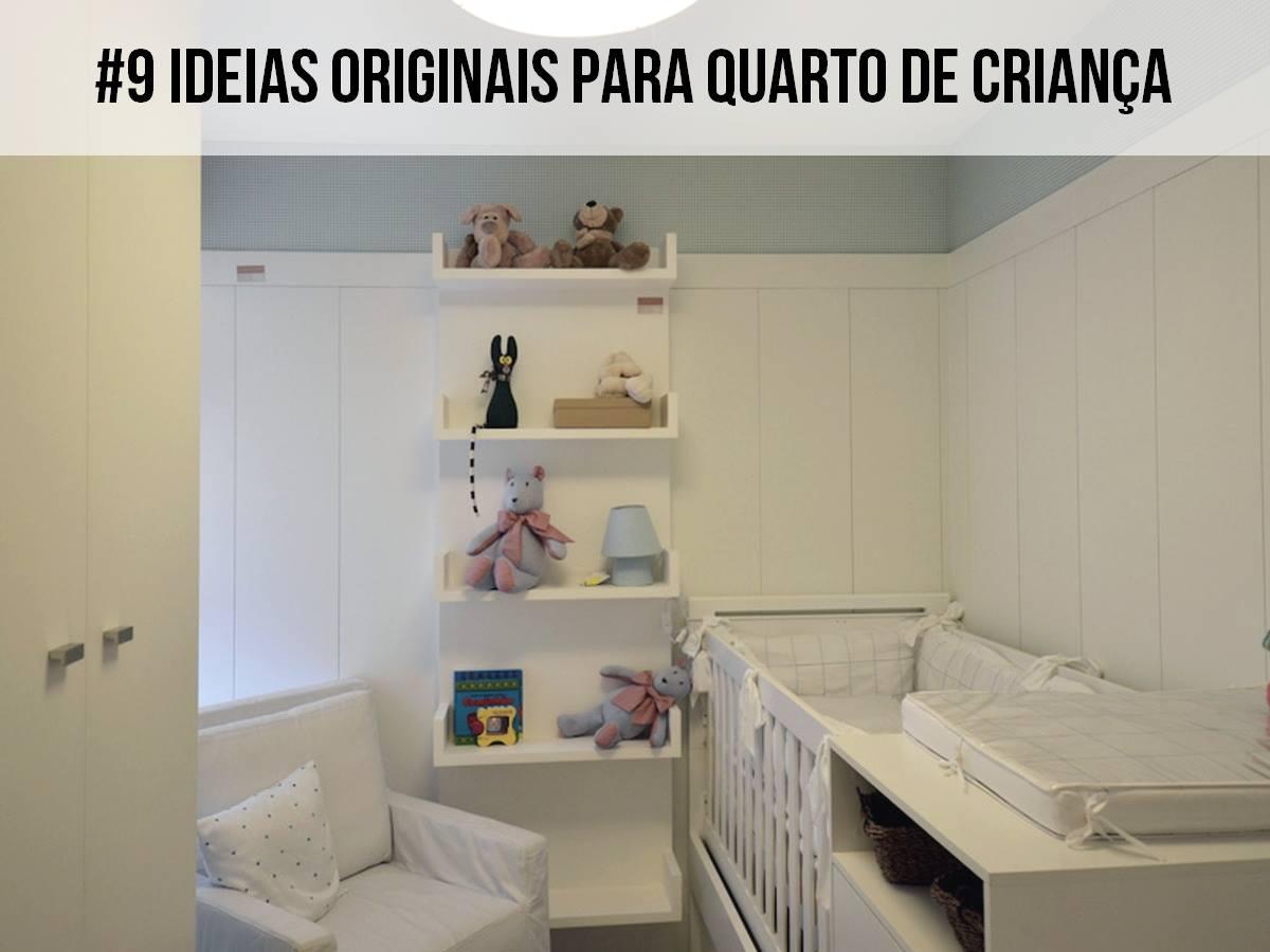 9 Ideias originais para quarto de criança