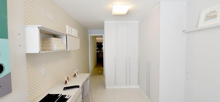 A elegância de um armário planejado