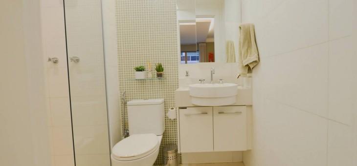 Móveis planejados no banheiro