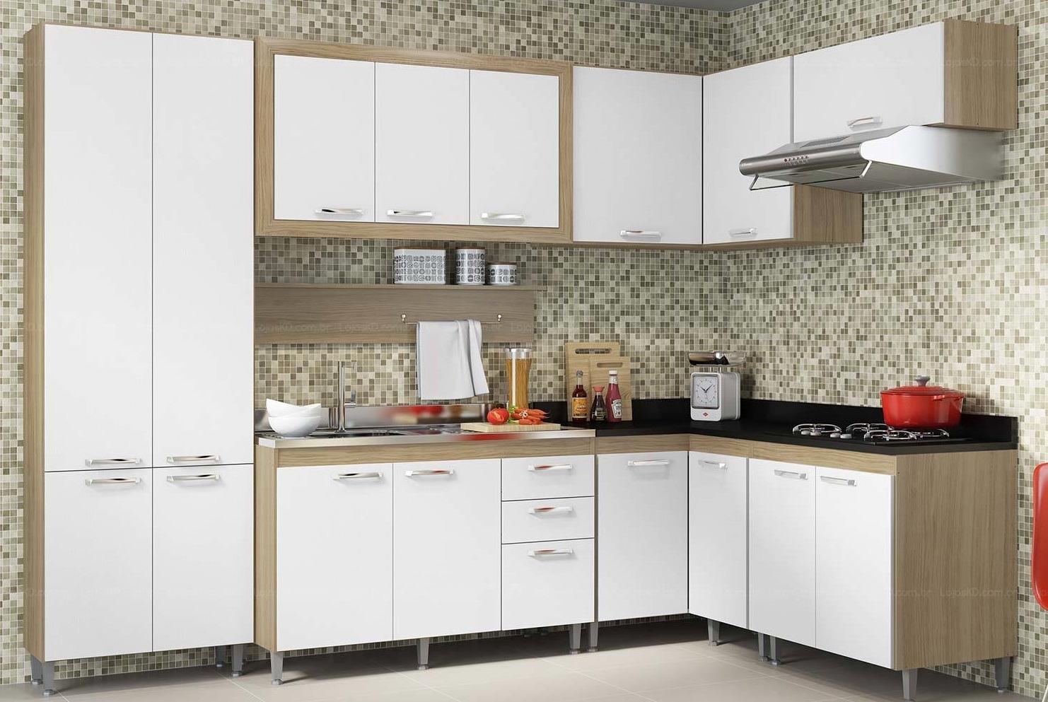 Cozinha Modulada Simples
