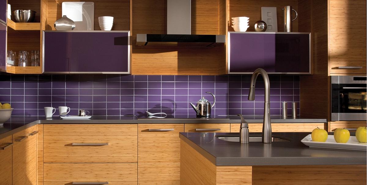Cozinha Planejada Roxo Ultravioleta