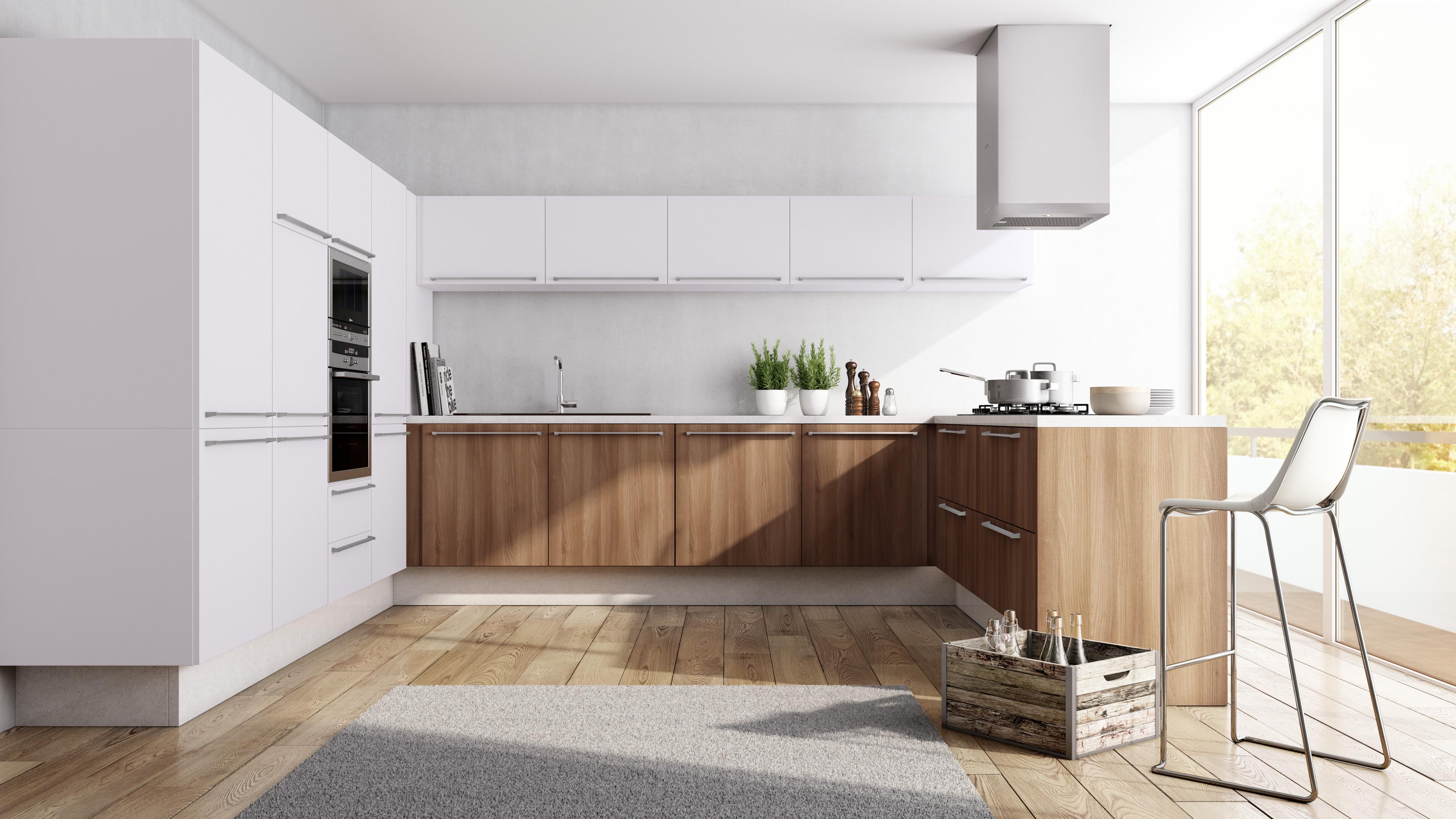 Cozinha Planejada Sofisticada Clean Funcional Madeirol