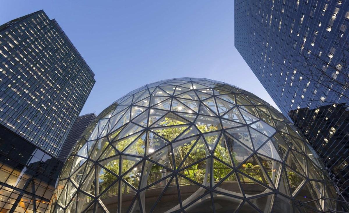 Cidade Sede Amazon Modernismo Esfera Biofílico