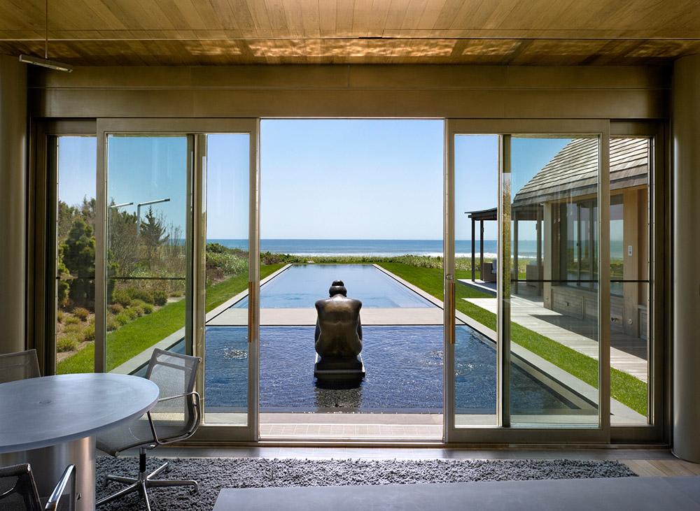 Casa Praia Piscina Água Design