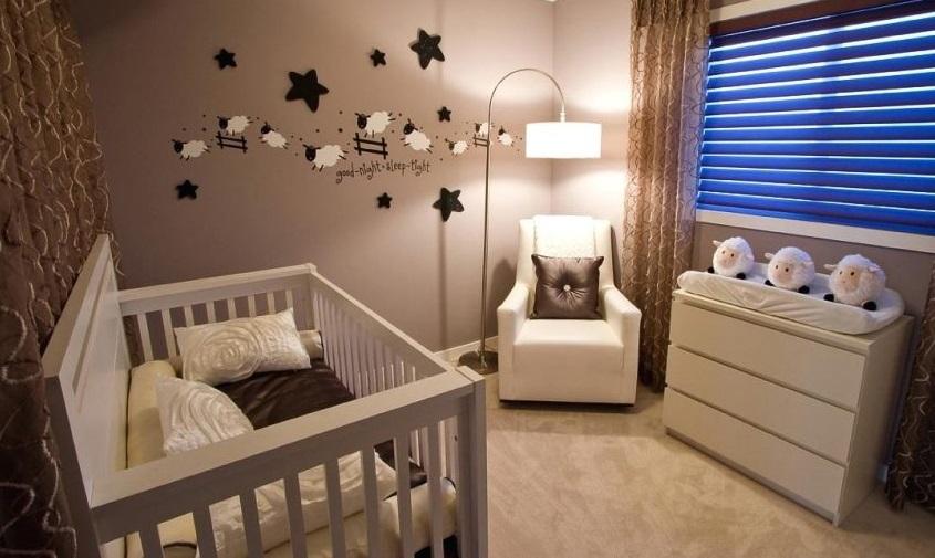 Quarto Bebê Abajur Casa Luz