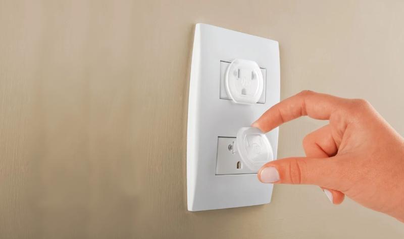 Tomada Eletricidade Acidente Protetor Casa