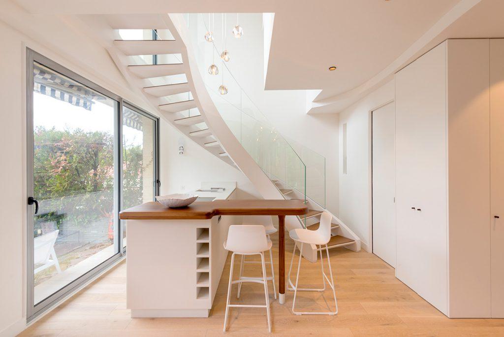 Bancada Escada Decoração Minimalismo Minimalista Clean