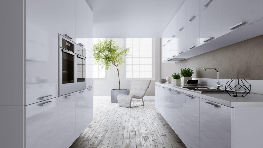 Cozinha Planejada Sofisticada Clean Minimalista Madeirol