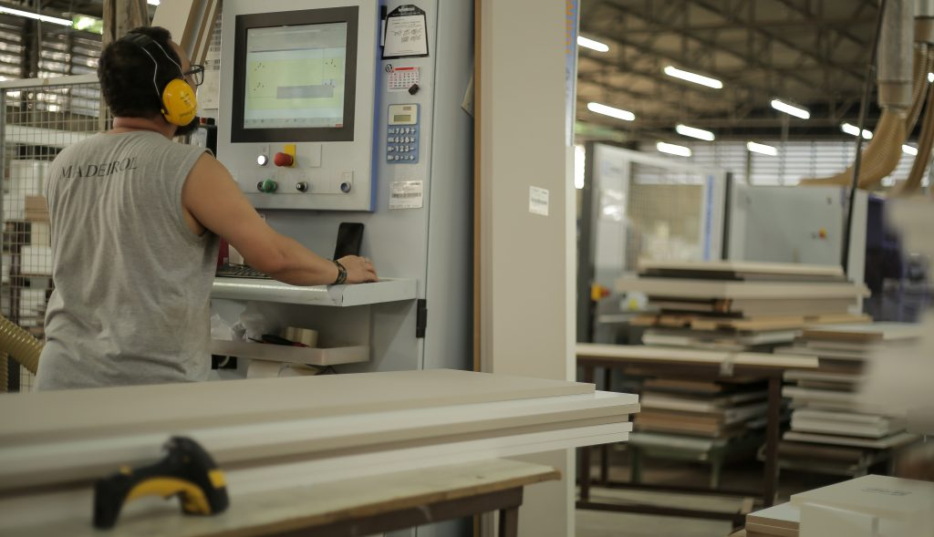 Fábrica Máquina Profissional Madeirol