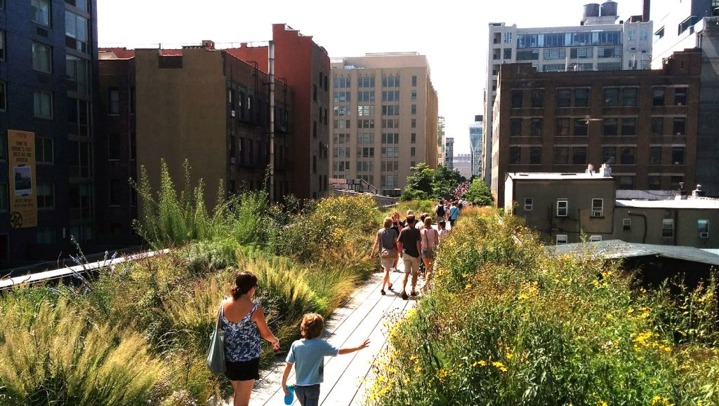 High Line Elizabeth Diller New York Arquitetura Jardim Passarela