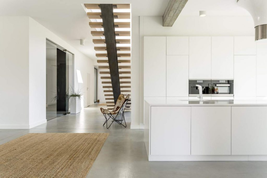 Cozinha Corredor Decoração Minimalismo Minimalista Clean