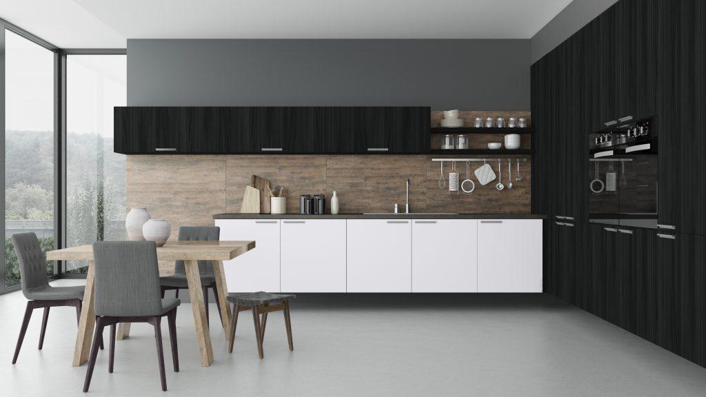 Cozinha Decoração Minimalismo Minimalista Clean Madeirol