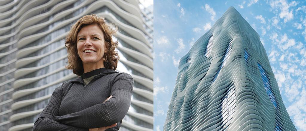 Jeanne Gang Chicago Arquitetura Prédio Aqua Tower