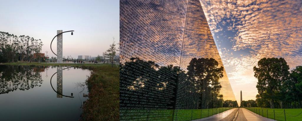 Arquitetura Memoria Veteranos Maya Lin