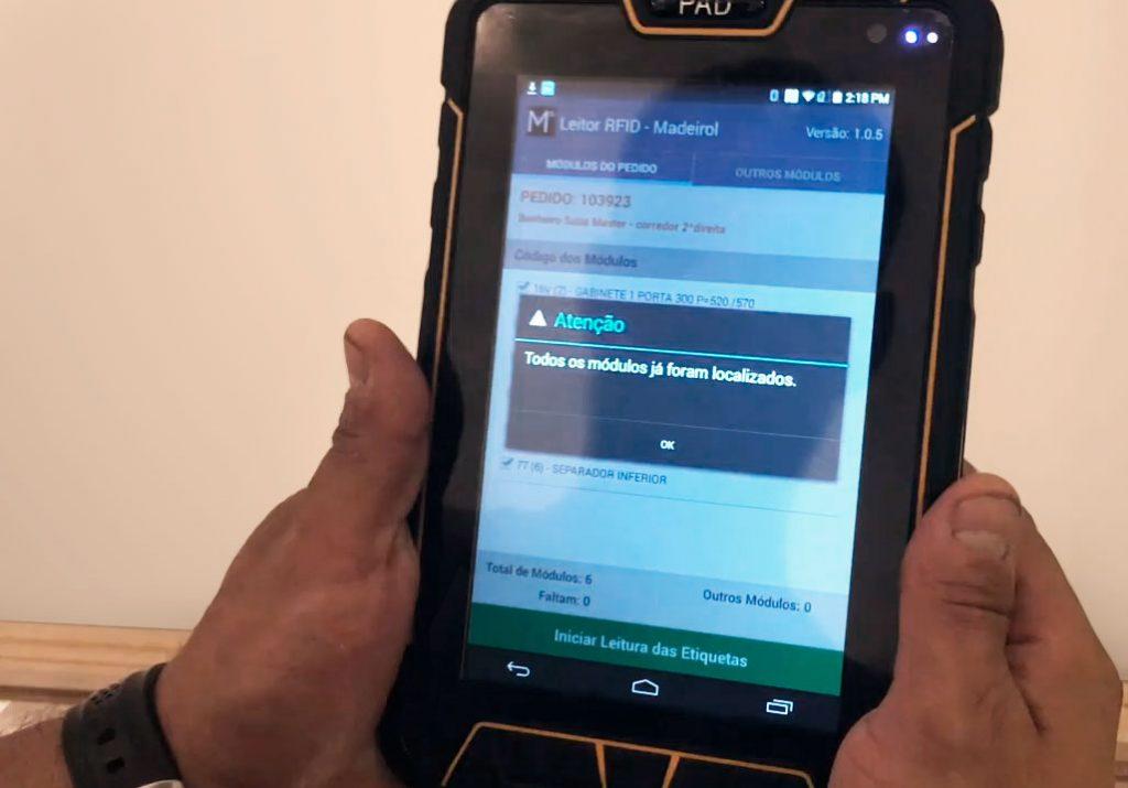 RFID Tecnologia Madeirol PAD