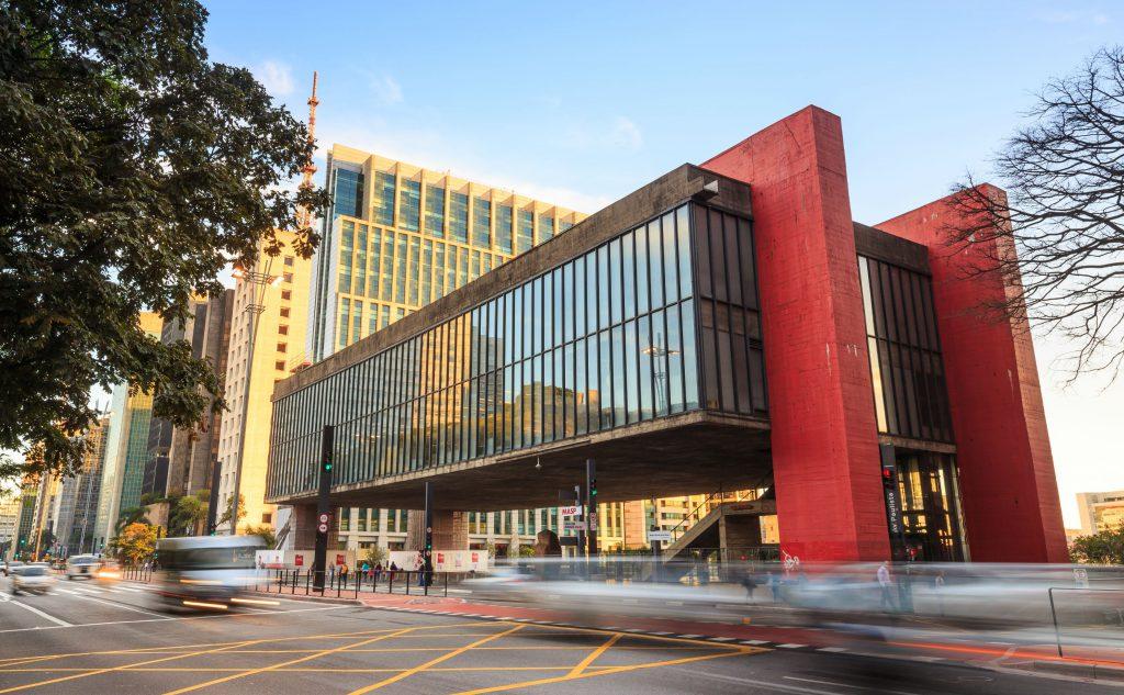 São Paulo MASP Lina Bo Bardi Museu Arquitetura