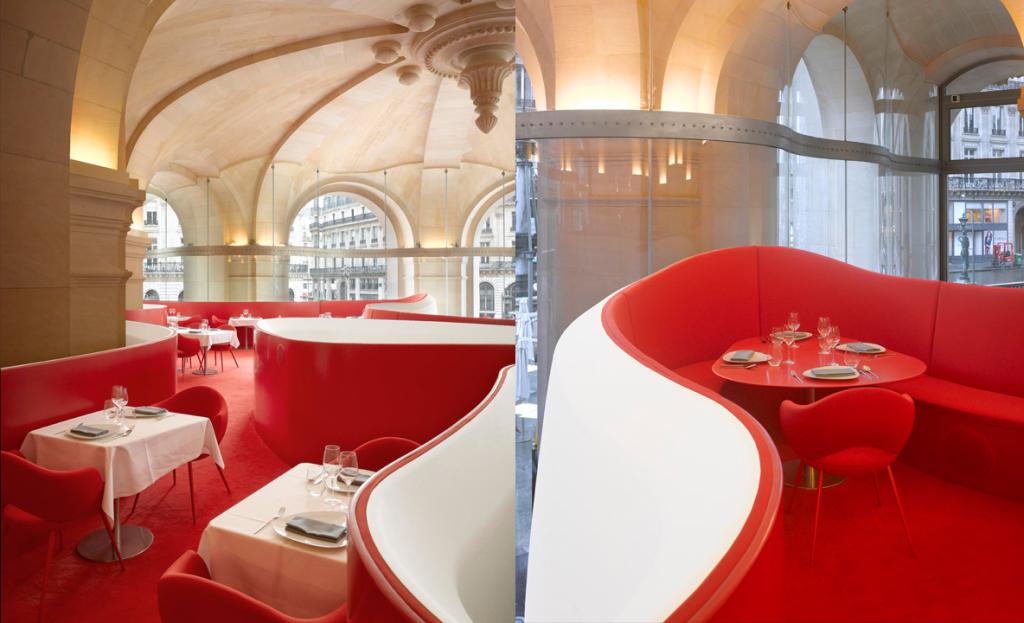 Odile Decq Phantom Restaurant França Arquitetura