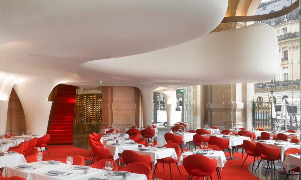 Odile Decq França Phantom Restaurant Modernismo Arquitetura