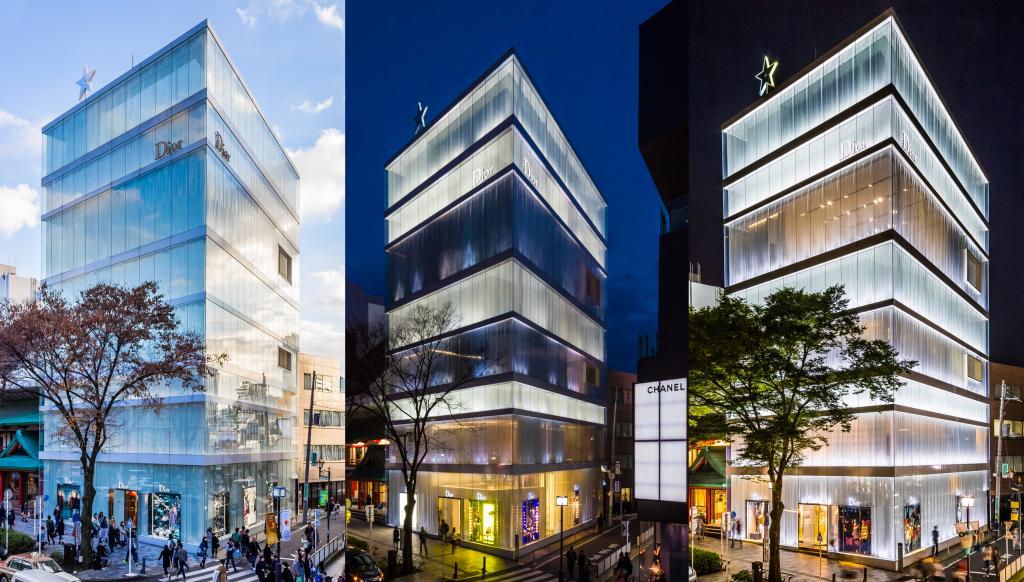 Kazuyo Sejima Prédio Dior Arquitetura Luz