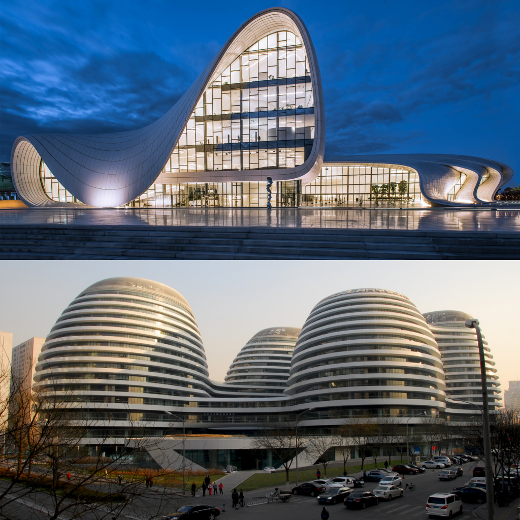 Zaha Hadid Arquitetura Moderna Arquiteta Modernismo