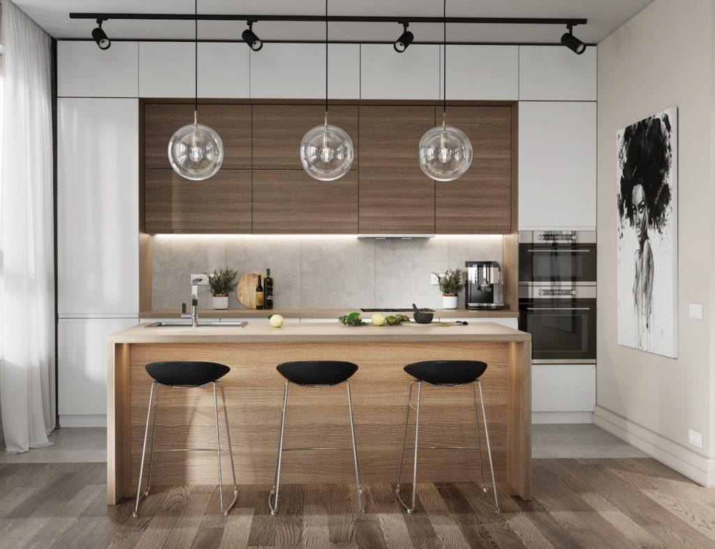 Casa Decoração Estilo Industrial Cozinha Moderno