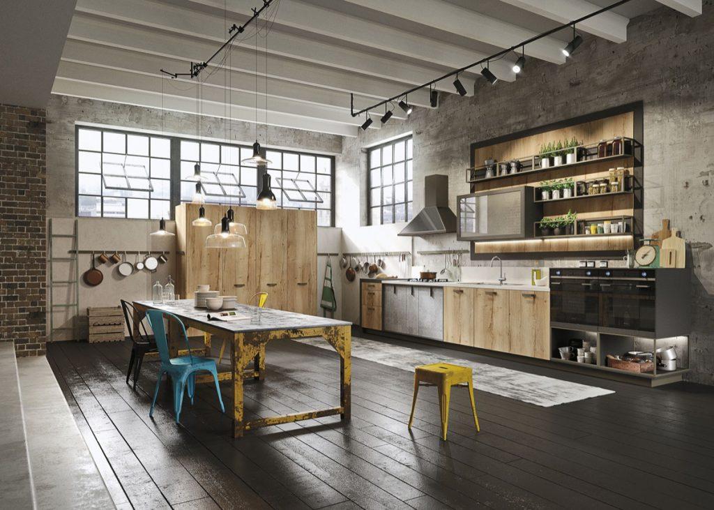 Casa Decoração Estilo Industrial Cozinha Loft