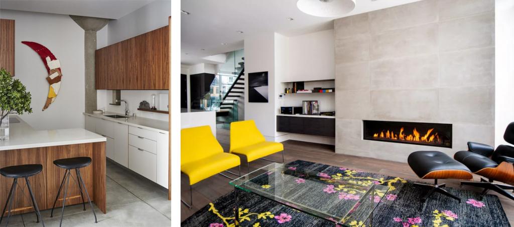 decoracao sala moderna cores