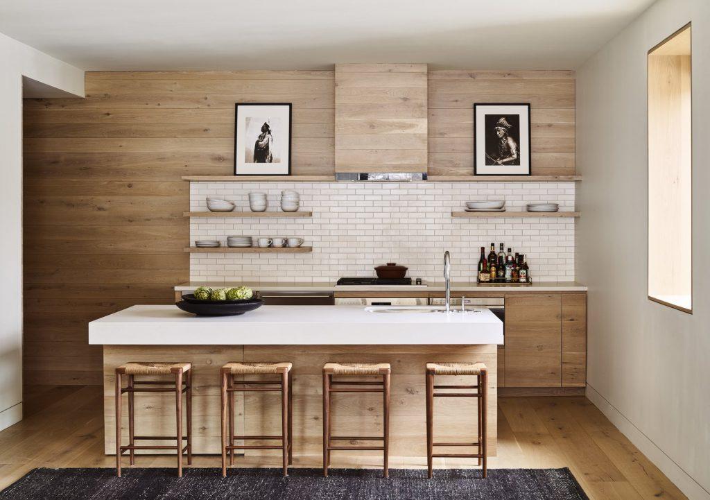 cozinha bege moderna