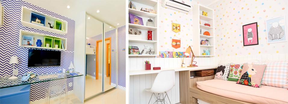 papel de parede quarto menino quarto infantil madeirol