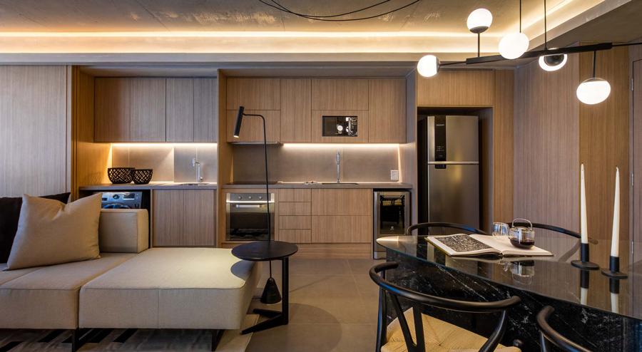 Cond Wide Residence Cozinha Madeirol