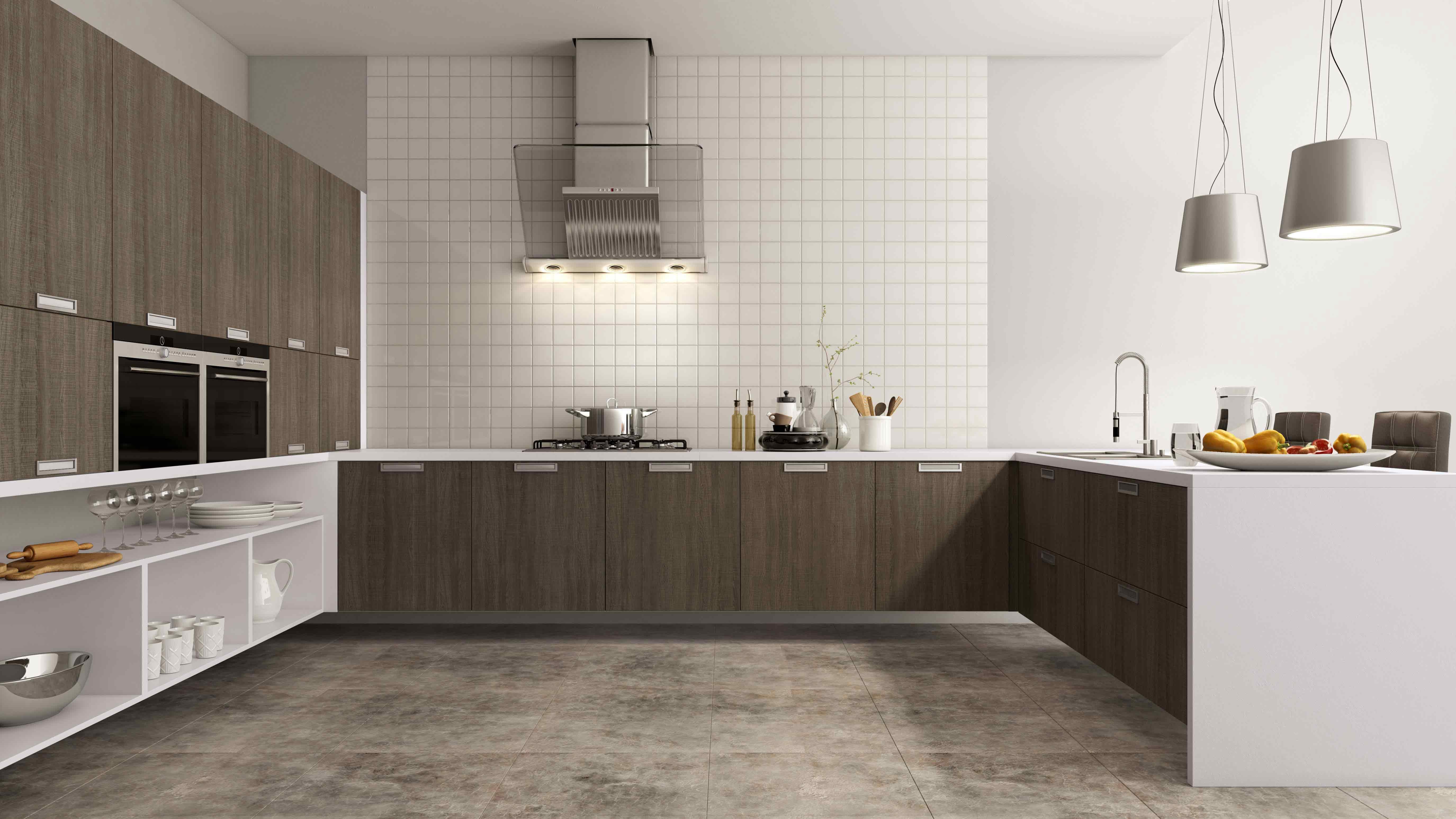 Cozinha marrom – MENOR PRAZO DO BRASIL