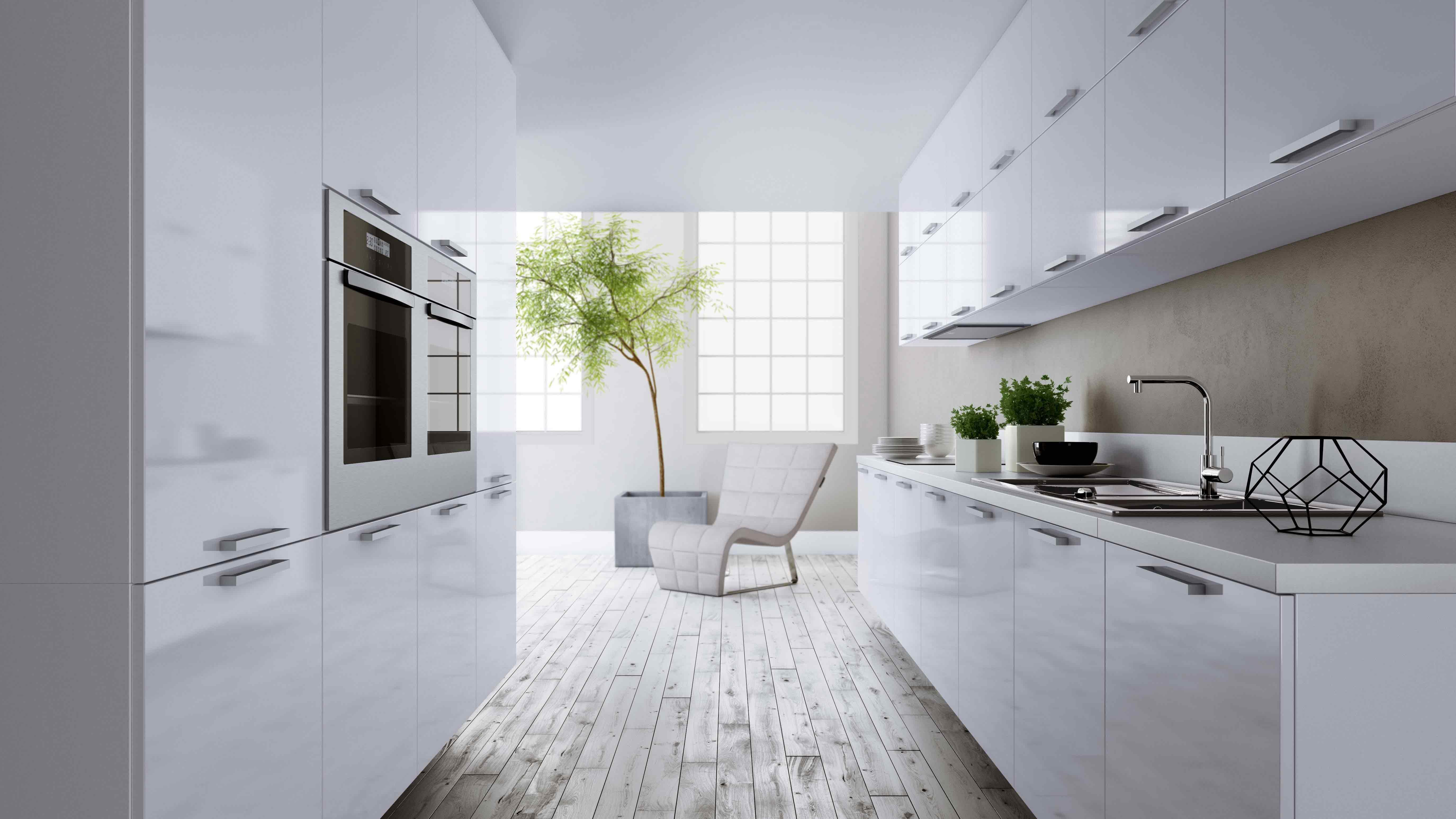 Cozinha Branca Frente – desafio 12 dias